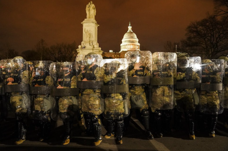 National Guard Deployed to D.C. Through Inauguration